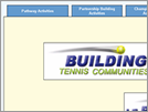Advanced Sports Technology : Building Tennis Communities Evaluation (Home Page)