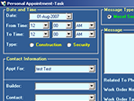 Contractor Management System : Create Appointment