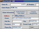 Work-Smart : Client Record (Windows Version)